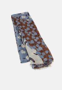 PARFOIS - PRINTED SCARF MODERN FLOWERS - Skjerf - blue - 0