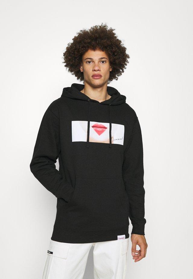 LIPS HOODIES - Sweatshirt - black