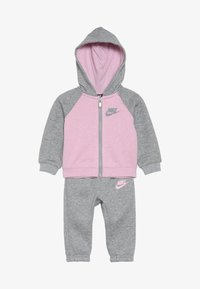 Nike Sportswear - BABY SET - Tracksuit - grey heather - 3