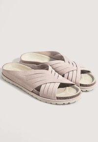 OYSHO - CROSSOVER - Mules - pink - 1