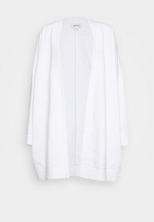Zip-up sweatshirt - white light