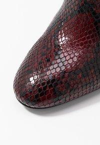 TWINSET - Højhælede støvler - beet red - 2