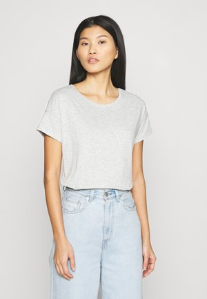 Basic T-shirt - mottled grey