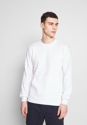 CREW NECK WITH POCKET - Sweatshirt - white