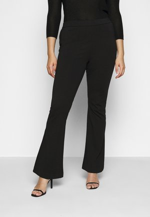VMKAMMA FLARED PANT - Trousers - black