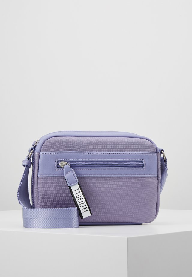 ZAMORA - Across body bag - light purple
