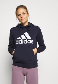 adidas Performance - Bluza z kapturem - legend ink - 0