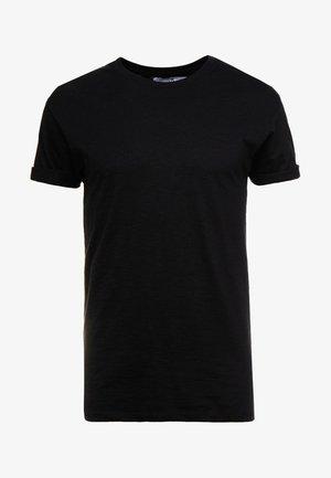 SKIN SLUB  - T-shirt basic - black