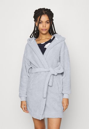 LOUNGING ROBE - Dressing gown - soft grey