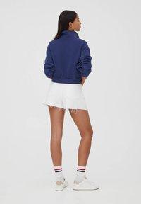 PULL&BEAR - Sweatshirt - mottled dark blue - 2