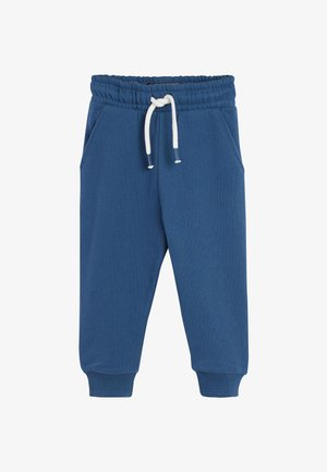 Tracksuit bottoms - mottled royal blue
