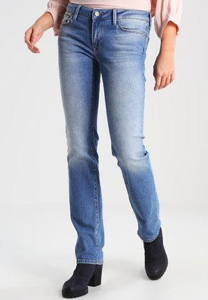 OLIVIA - Straight leg jeans - shaded stretch