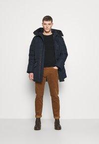 TOM TAILOR DENIM - Winter coat - sky captain blue - 1