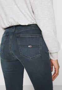 Tommy Jeans - NORA - Skinny džíny - dark-blue denim - 3