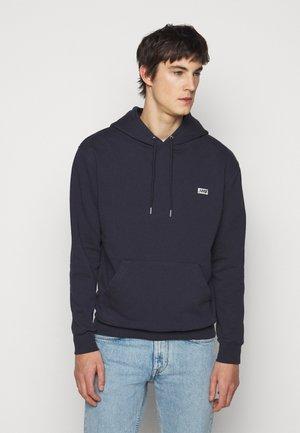 BOX LOGO HOODIE - Sweatshirt - maritime blue
