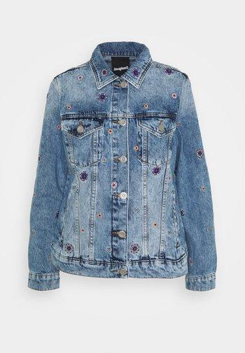 JULIETA - Džínová bunda - blue