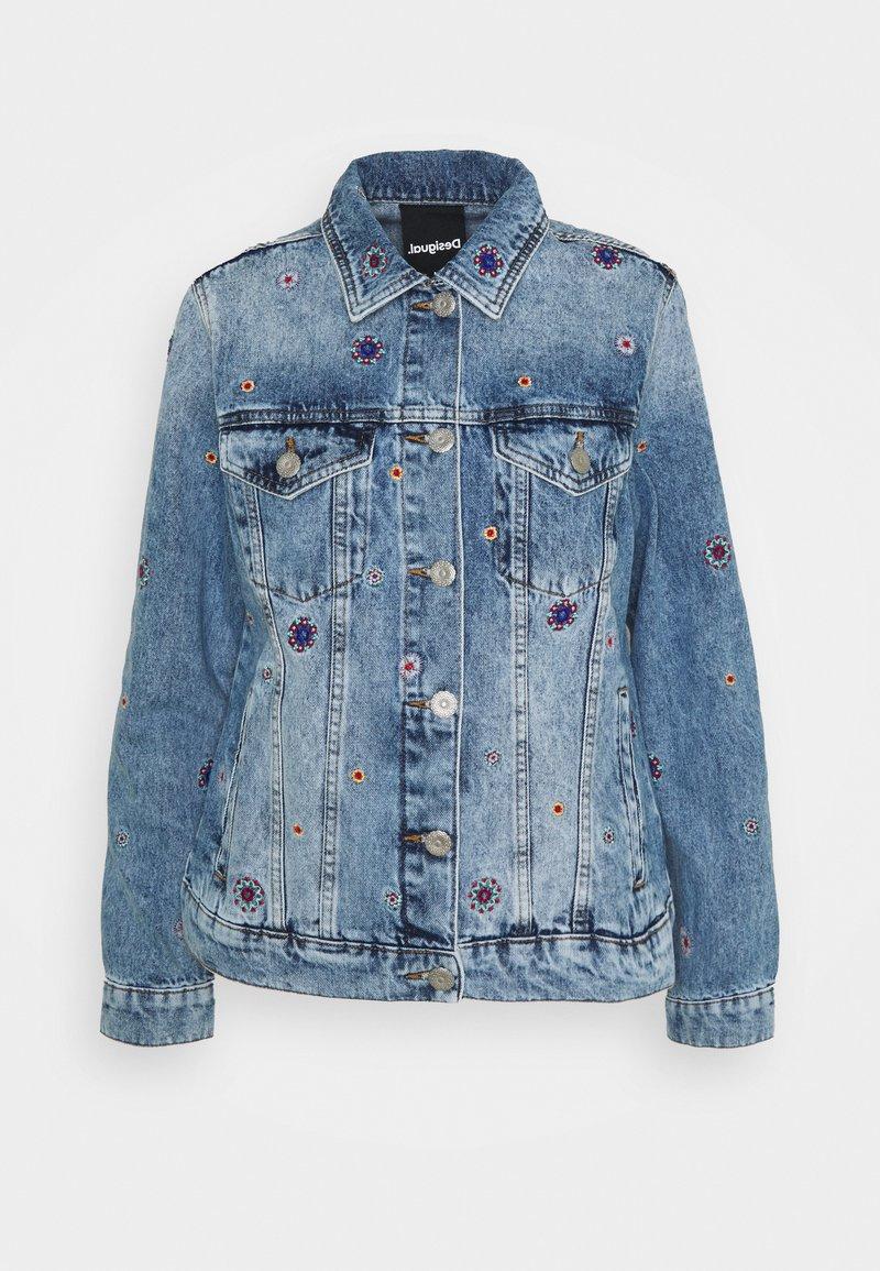 Desigual - JULIETA - Denim jacket - blue