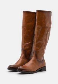 Gabor Comfort - XL - Vysoká obuv - whisky - 2