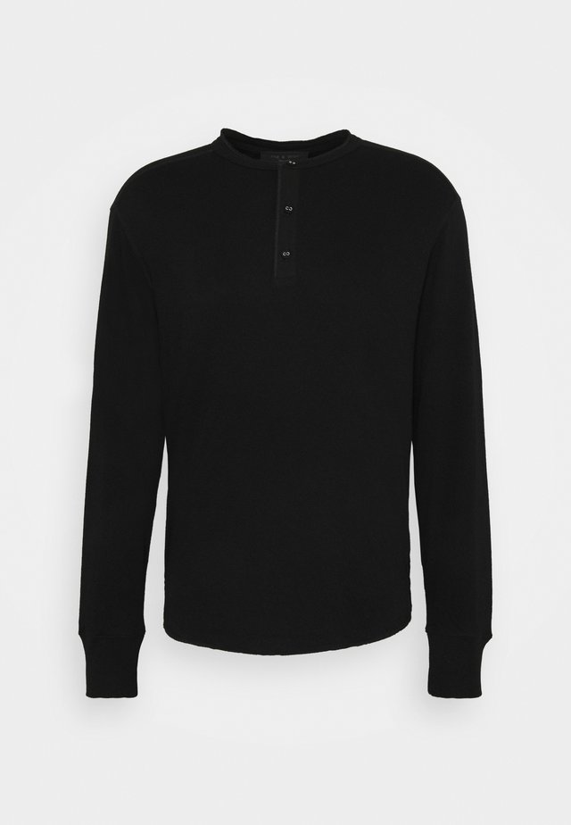 GIBSON  - Langærmede T-shirts - black