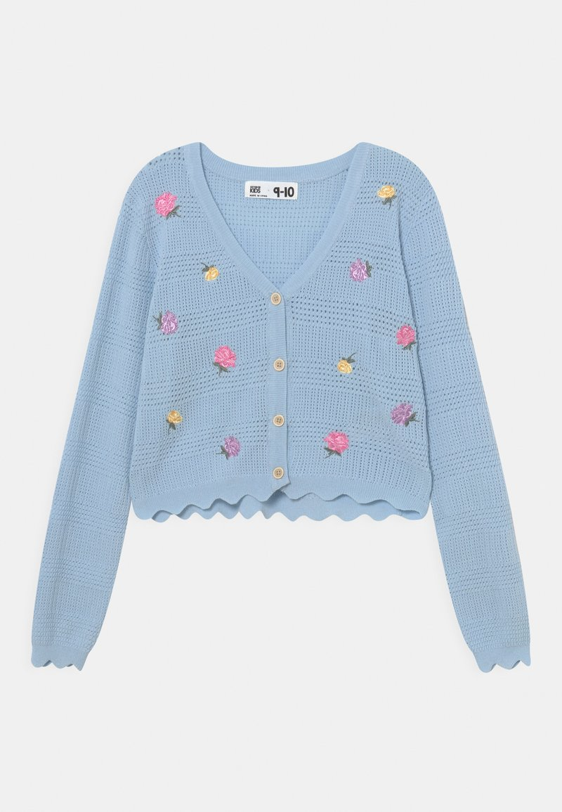 Cotton On - AUDREY FLORAL - Cardigan - white/water blue
