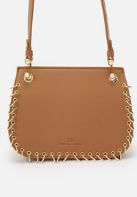 Elisabetta Franchi - PIERCING SADDLE SHOULDER BAG - Across body bag - mou - 5