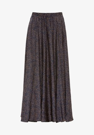Pleated skirt - indigo