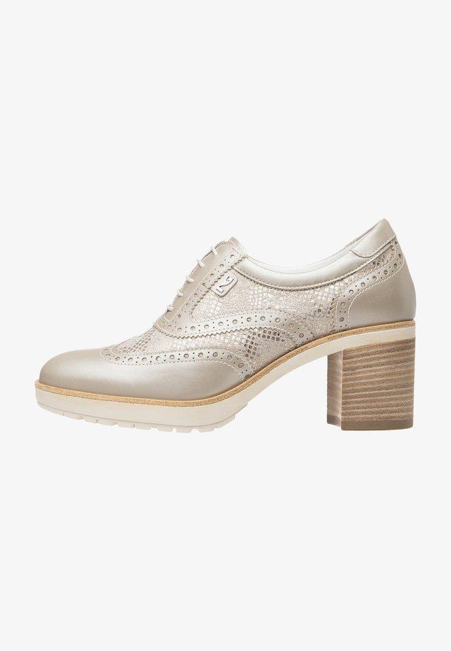 Platform ankle boots - savana