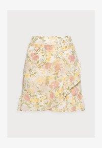 VILA PETITE - VISELENE WRAP SKIRT - A-line skirt - birch - 4