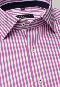 Eterna - COMFORT FIT - Shirt - pink/weiss - 4