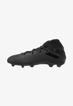NEMEZIZ FOOTBALL BOOTS FIRM GROUND - Moulded stud football boots - core black/utility black