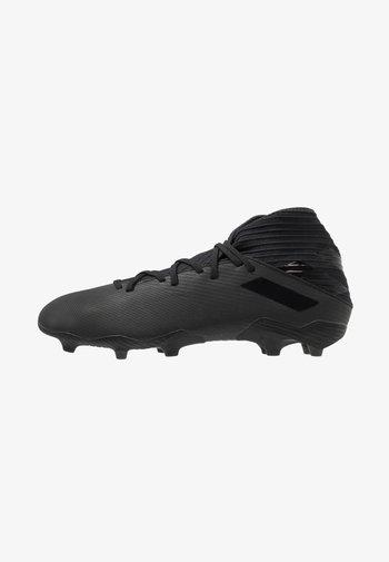 NEMEZIZ FOOTBALL BOOTS FIRM GROUND - Moulded stud football boots - core black/utility black