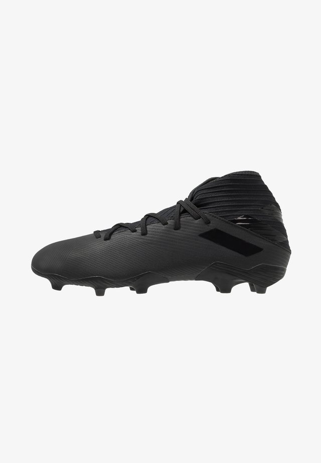 NEMEZIZ FOOTBALL BOOTS FIRM GROUND - Chaussures de foot à crampons - core black/utility black