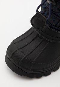 Kickers - SEALSNOW UNISEX - Winter boots - marine/multicolor - 5