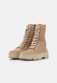 Paul Green - Lace-up ankle boots - beige - 2