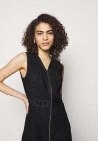 DKNY - Cocktail dress / Party dress - black - 3