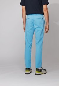 BOSS - REGULAR FIT - Trousers - turquoise - 2