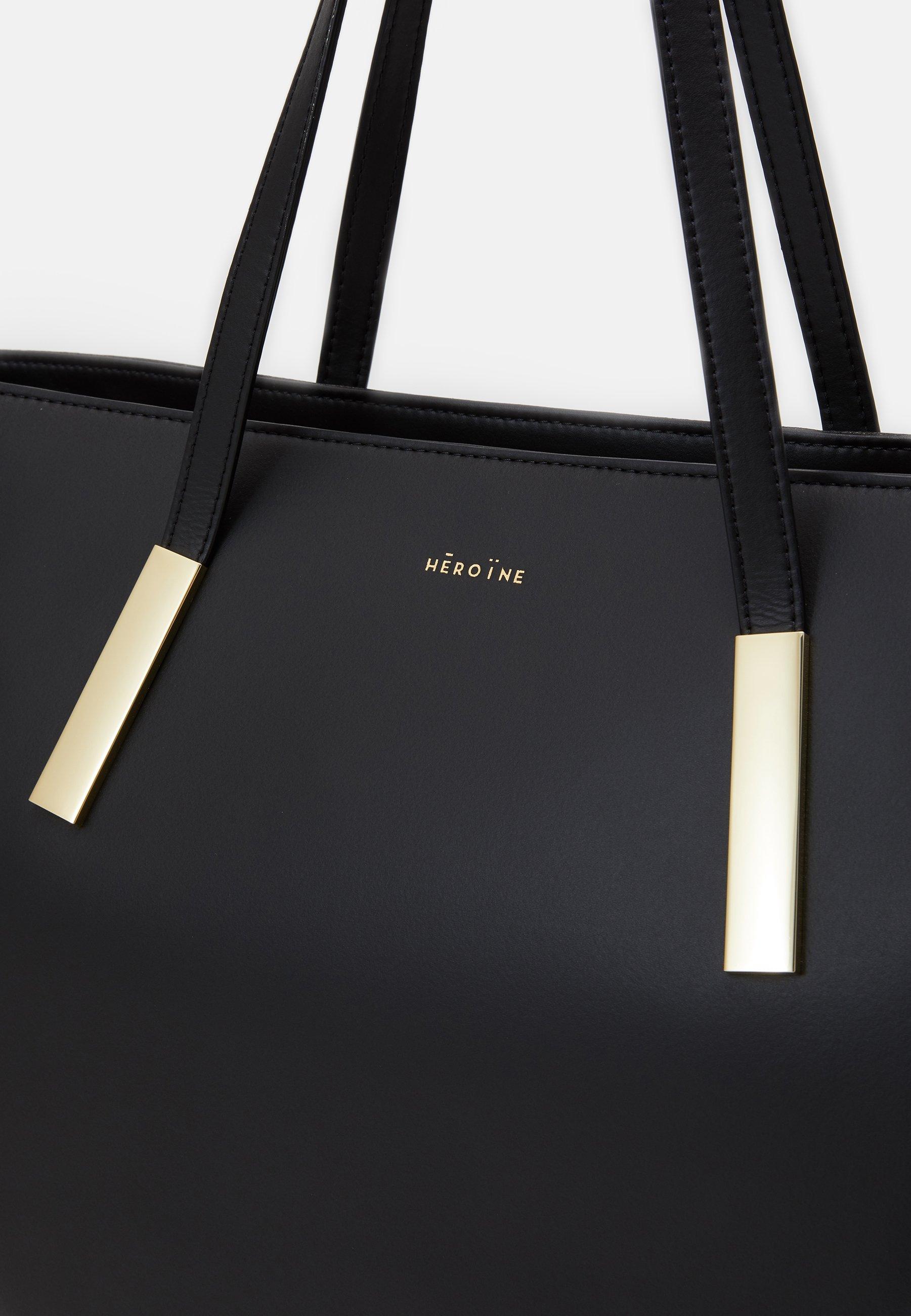 Maison Hēroïne FRANCA - Shoppingveske - black/svart ByMY5A9pKNKF1kh