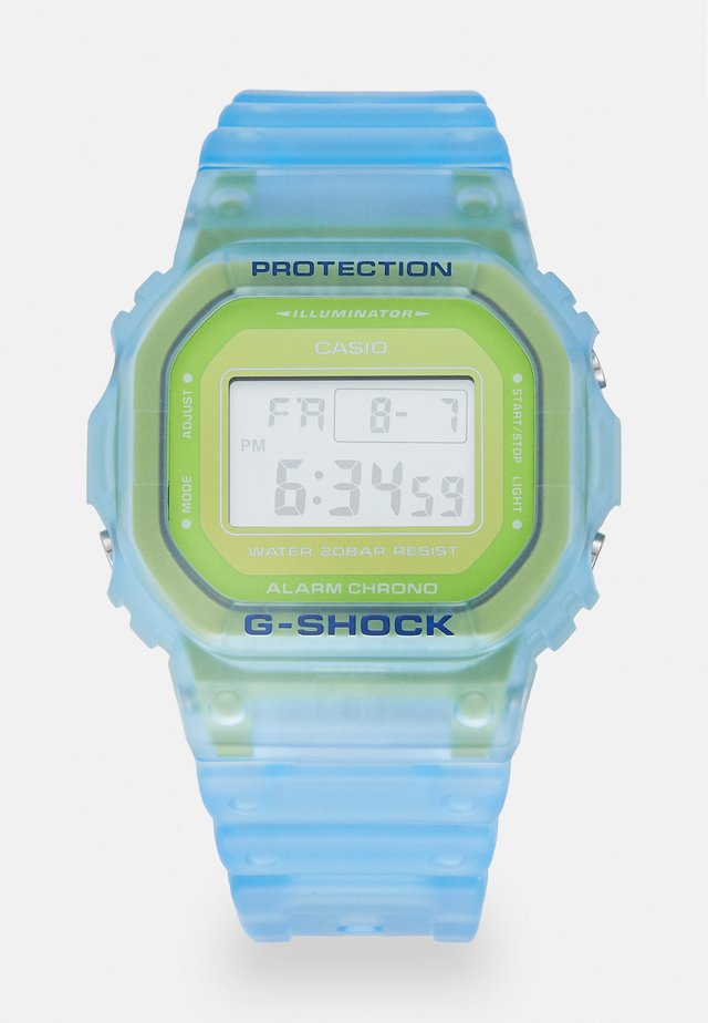 SKELETON - Digital watch - blue