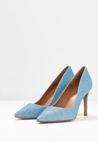 Pura Lopez - Zapatos altos - glitter sky - 4