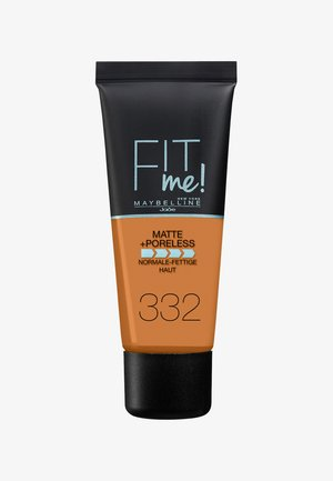 FIT ME MATTE & PORELESS MAKE-UP - Foundation - 332 golden caramel
