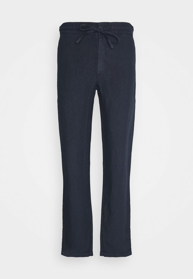 TROUSERS - Kangashousut - blue navy