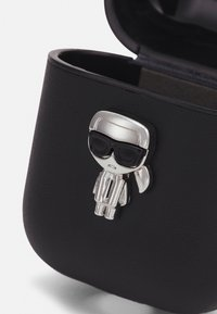 KARL LAGERFELD - IKONIK AIRPOD CASE - Other accessories - black - 3