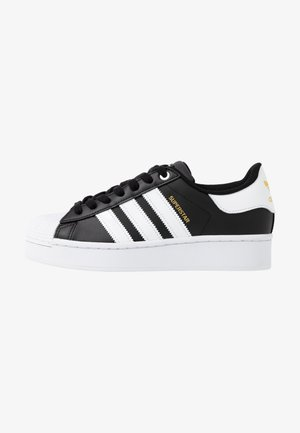 SUPERSTAR BOLD - Sneakers - core balck/footwear white/gold metallic