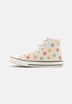CHUCK TAYLOR ALL STAR - Korkeavartiset tennarit - natural ivory/egret/black