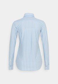 Polo Ralph Lauren - HEIDI LONG SLEEVE BUTTON FRONT SHIRT - Overhemdblouse - carolina blue/white - 1