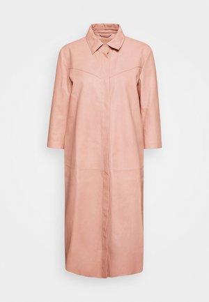 DRESS - Shirt dress - dusty rose