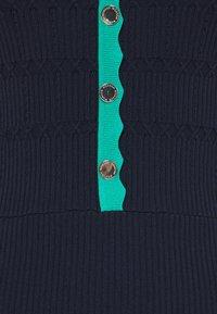 Morgan - Pletené šaty - marine/menthe - 2
