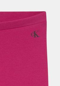 Calvin Klein Jeans - LOGO - Legginsy - stunning magenta - 2