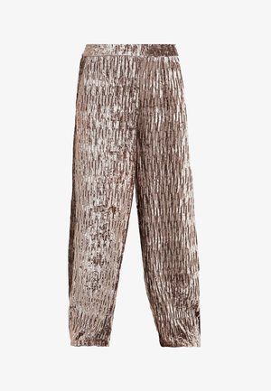 MANEL - Trousers - soft powder