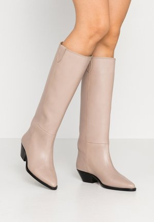 HUNTER HIGH BOOT - Boots - clay